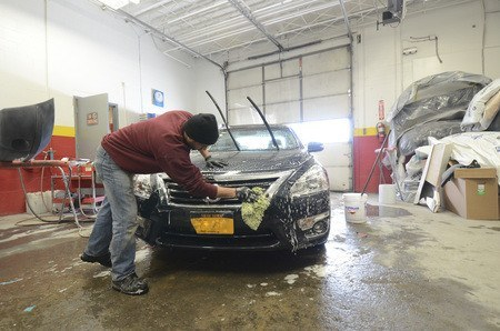Collision Masters detailing